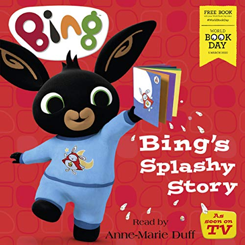 『Bing's Splashy Story: World Book Day 2020』のカバーアート