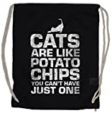 Urban Backwoods Cats Are Like Potato Chips Borsa da Palestra Sportiva