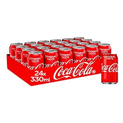 Great Coke taste Only natural flavours Gluten-free, dairy-free and nut-free Best served chilled