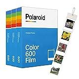 Polaroid Original 600 películas de color triple paquete (24 disparos) + álbum de pared gratis.