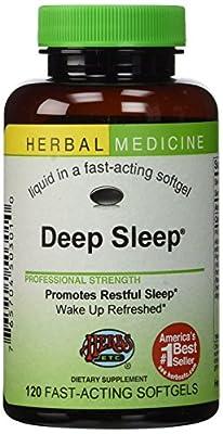 Deep Sleep? Herbal Sleep Aid: 120-Count Bottle of Softgels