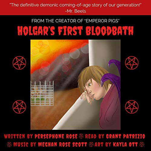 Holgar's First Bloodbath audiobook cover art