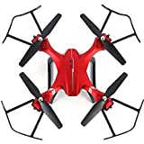 FPV RC Drone with 1080P HD Wi-Fi Camera Drone for Kids and Beginners 2.4Ghz 6-Axis Gyro Quadcopter Drone with 2 Batteries/Altitude Hold/Headless Mode/4D Flips & Rolls/One Key take Off/Landing
