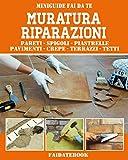 Muratura Riparazioni: Pareti - spigoli - piastrelle - pavimenti - crepe - terrazzi - tetti (Miniguide Fai da te)