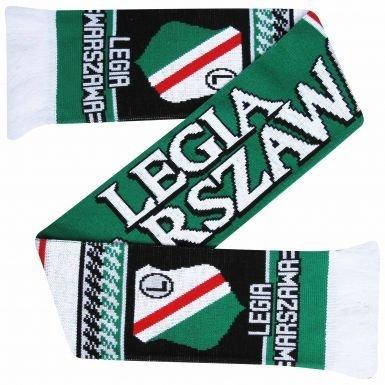 Polonia Legia Varsavia SA (Wojskowi) Fans sciarpa (100% acrilico)