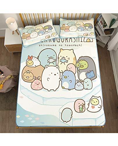 Estera para dormir de verano, colchón de enfriamiento plegable, coagulador de enfriamiento de enfriamiento Cusión para el dormitorio de la escuela doméstica (Color: D, Tamaño: 6.6 pulgadas / 200 * 200