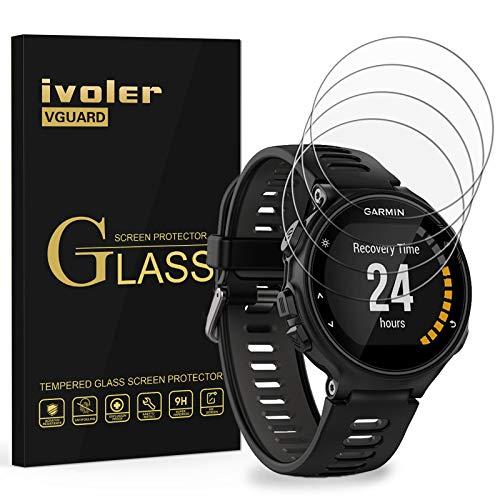 iVoler [4 Pack] Pellicola Vetro Temperato per Garmin Forerunner 735XT, Pellicola Protettiva, Protezione per Schermo