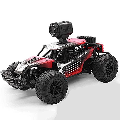 SXLCKJ Remote Control Car Toy Four-Wheel Drive Off-Road High Speed RC Boy Toy Car Model WiFi Camera(Best Gift)