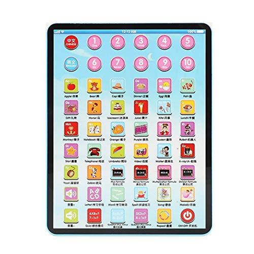 Tinffy Children Touch Tablet Pad Learning Reading Machine Early Education Toys Electronic Systems