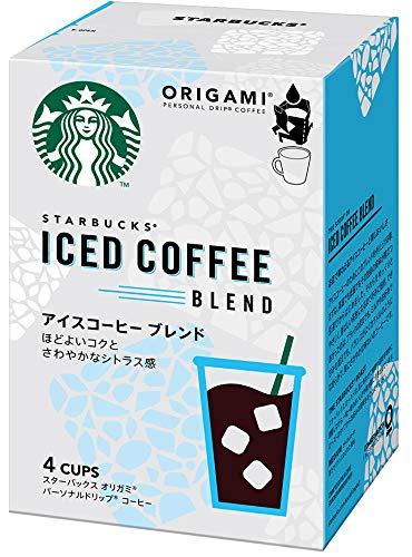ネスレ日本 スターバックス オリガミ パーソナルドリップ コーヒー アイスコーヒー ブレンド 4袋 レギュラー(ドリップ)
