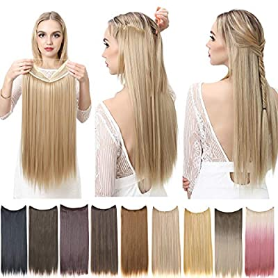 SARLA Halo Hair Extensions