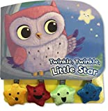 Twinkle, Twinkle Little Star-Interactive Board Book with Fun Dangling Cloth and Crinkle Pieces