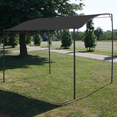 vidaXL Pavillon Gartenpavillon Überdachung Partyzelt Pergola Garten Terrasse Terrassenpavillon Sonnenschutz Gartenzelt 3x2,5m Anthrazit