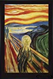 Close Up Edvard Munch The Scream Poster Der Schrei (93x62