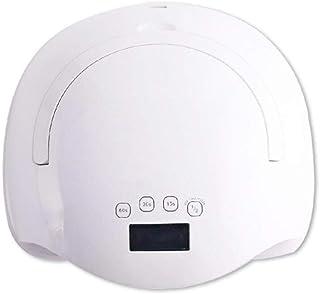 Secador UñAs, 58w Profesional LED/UV Lampara UñAs Gel Semipermanentes Maquina UñAs luz Lamp con Sensor Automatico,4 Temporizadores Manicura/Pedicure Nail,Blanco