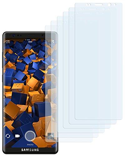 mumbi Schutzfolie kompatibel mit Samsung Galaxy Note 8 Folie klar, Displayschutzfolie (6X)
