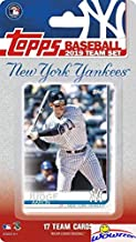 New York Yankees 2019 Topps Baseball EXCLUSIVE Special Limited Edition 17 Card Complete Team Set with Aaron Judge, Gleyber Torres & Many More Stars & Rookies! Shipped in Bubble Mailer! WOWZZER!