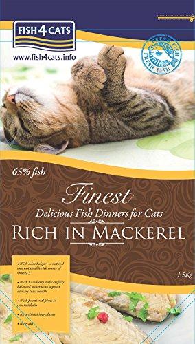 Vema - Fish 4 Cat - Finest Mackerel 1,5 kg.