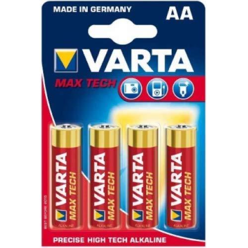 """Oferta de Varta - 1 unidad de 4pilas alcalinas """"maxi tech mignon (aa/lr6) 1,5voltios"""