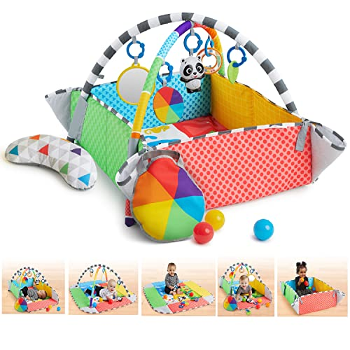 Baby Einstein Patch's 5-in-1 Color Playspace Activity Play Gym & Ball Pit, Ages Newborn +