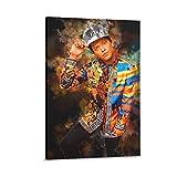 Bruno Mars Poster auf Leinwand und Wandkunst, Kunstdruck,