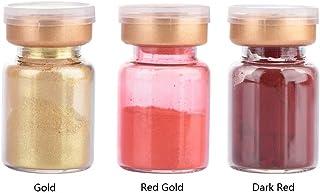 口紅顔料パウダー、DIY頬紅アイシャドウ口紅化粧パウダー、3個/セット