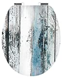 CORNAT KSDSC308 Tapa WC, diseño wooden