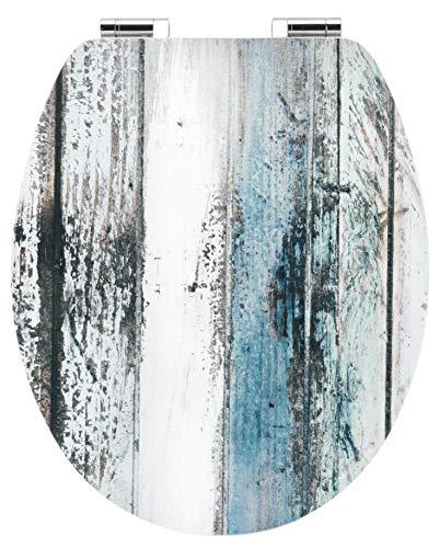 "Cornat WC-Sitz Art of Acryl \""Wooden\"" - Elegante Acryl-Oberfläche - Hochwertiger Holzkern - Absenkautomatik & Schnellbefestigung - Komfortables Sitzgefühl / Toilettensitz / Klodeckel / KSDSC308"