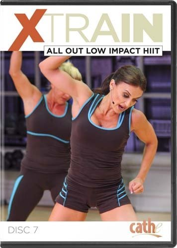 Cathe Friedrich XTrain Series: All-Out Low Impact HIIT DVD