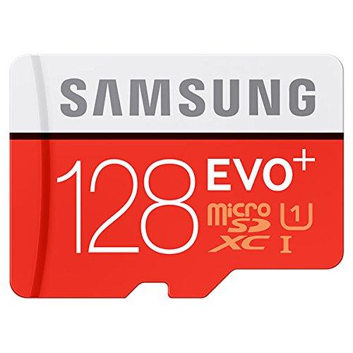Cartão Samsung Micro Sdxc Evo Plus 128gb + Adaptador