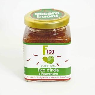 Chili Und Kaktusfeigen - Marmelade Aus Sizilianischen Feigen 230 Gr