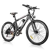 Vivi Vélo Électrique Velo Homme Femme Vtt Adulte, Vélo Electrique de Montagne 26 pouces, 350W...