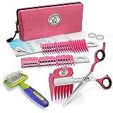 Scaredy Cut Silent Pet Clipper, Pink with Li'l Pals Slicker Brush