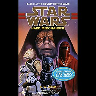 Star Wars: The Bounty Hunter, Book 3: Hard Merchandise audiobook cover art
