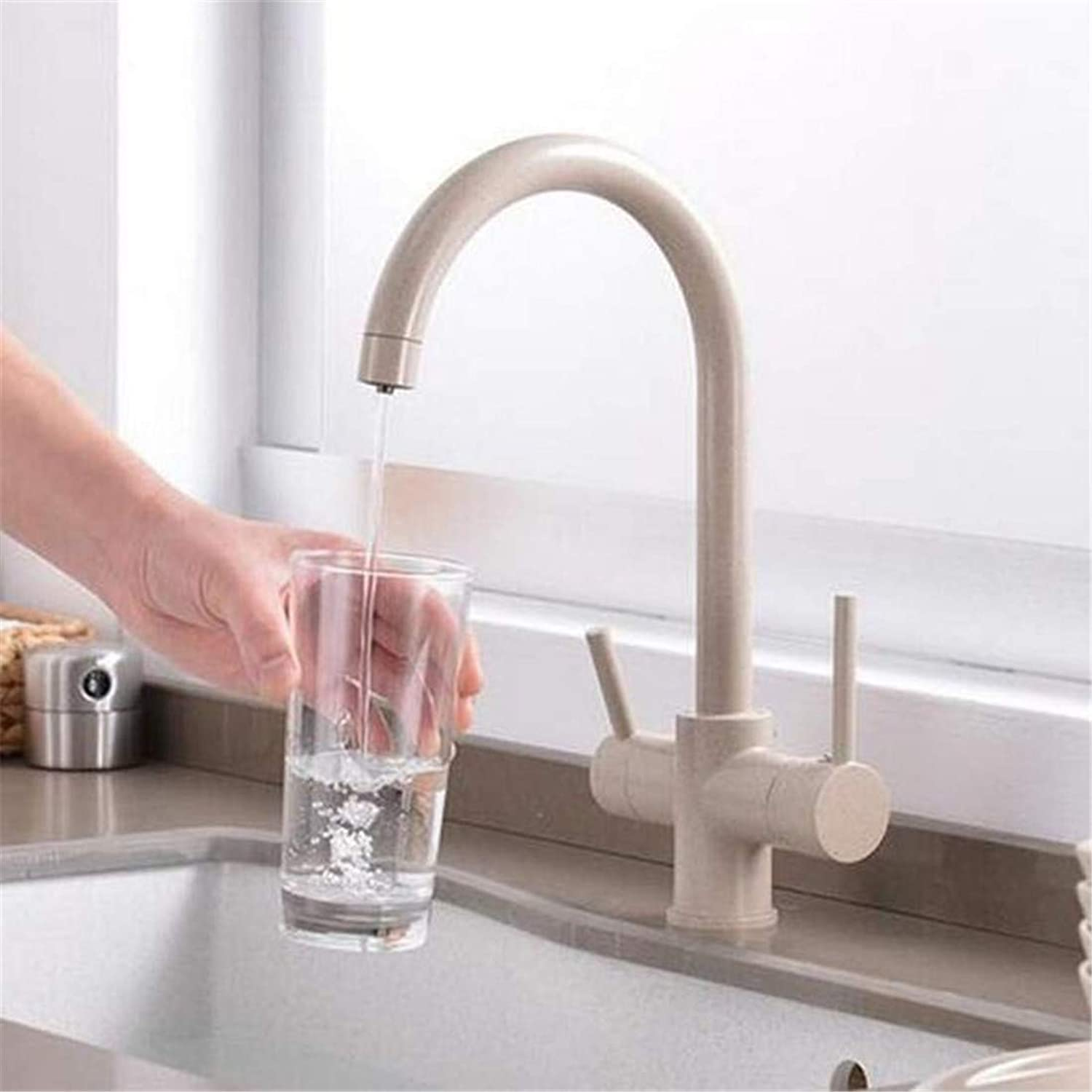Faucet Vintage Brass Chrome Kitchen Sink Faucet Mixer Design 360 Degree redation Kitchen Faucet