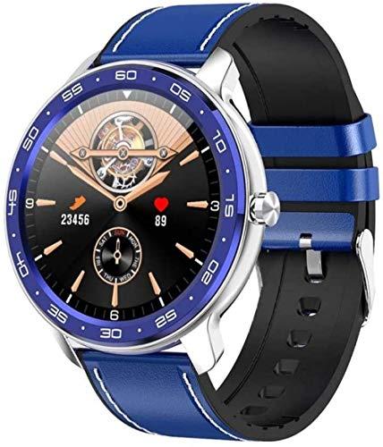 Reloj inteligente para hombre, IP68, resistente al agua, con cronómetro, pulsera de actividad física, podómetro, reloj inteligente para niños, para iOS y Android C