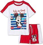 Disney Mickey, Completino Bambino, Rosso (Rosso), 128 (Talla produttore: 8Y)