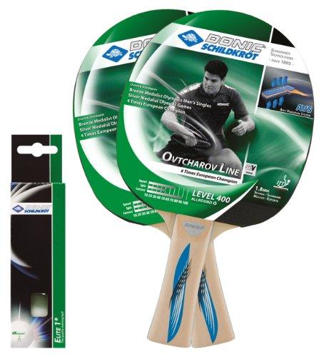 Donic-Schildkröt Tischtennis Set Ovtcharov 400 AVS im Blister, 788655