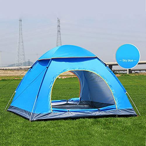 Tofree Quick-Open Zelt, Strand, Camping, Picknickzelt für 3-4 Personen, blau, 200 * 200 * 135cm