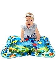 【2019爆人気プレイマット】子供用プレイマット ベビー ウォーター かわいいプレイマット 空気注入式 水遊びマット 触って遊ぶ 赤ちゃんの刺激の成長 浮き輪 知育 暑さ対策 室内&屋外用パッド ギフトにぴったりパッケージ