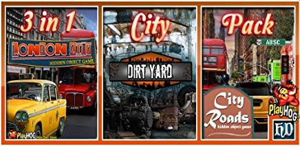City Pack - 3 in 1 - Hidden Object Game [Download]