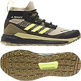 adidas Zapatilla Terrex Free Hiker GTX, Botas de Senderismo Hombre, SAVANN/HIREYE/CBLACK, 40 EU