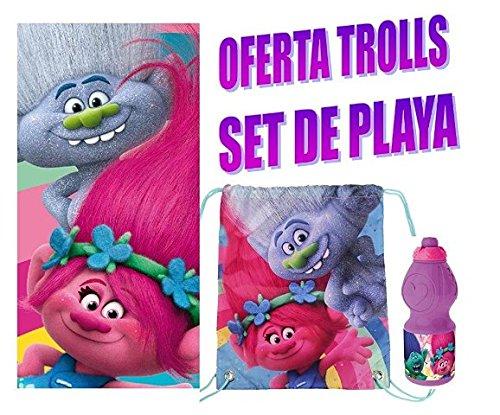 TROLLS POPPY CONJUNTO DE PLAYA