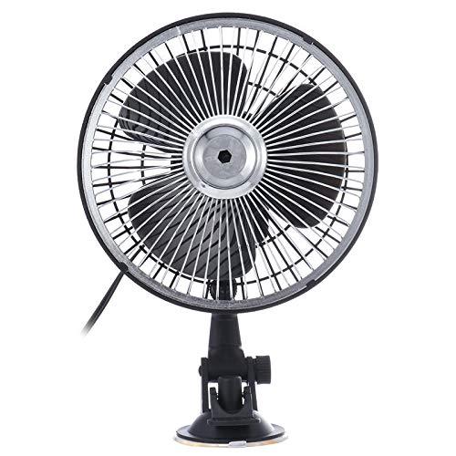 YANGYUAN Ventilación portátil de ventilación de Aire de Aire de 6 Pulgadas Negro 12V 24V Ventilación portátil de ventilación (Color : 24V)