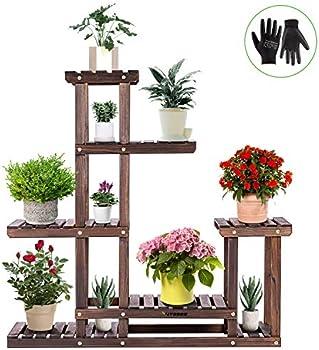 Vivosun Wood Plant Stand