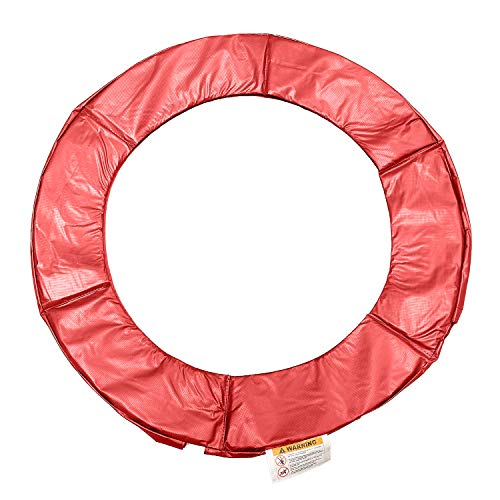 DJL Fun Trampoline Replacement Safety Pad Spring Cover 36-inch Diameter - Red