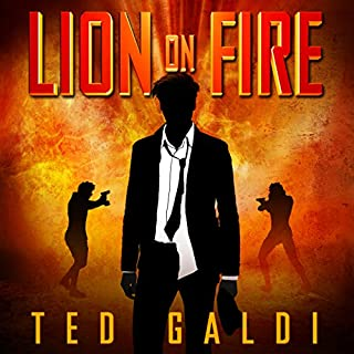 Lion on Fire cover art