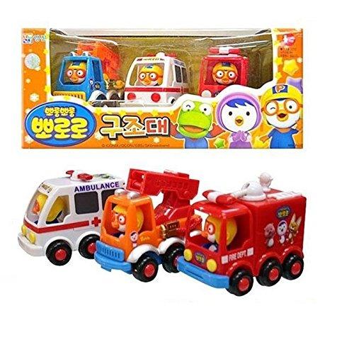Pororo Rescue Play Toy Car