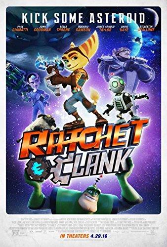 Ratchet & Clank Movie Poster (27,94 x 43,18 cm)