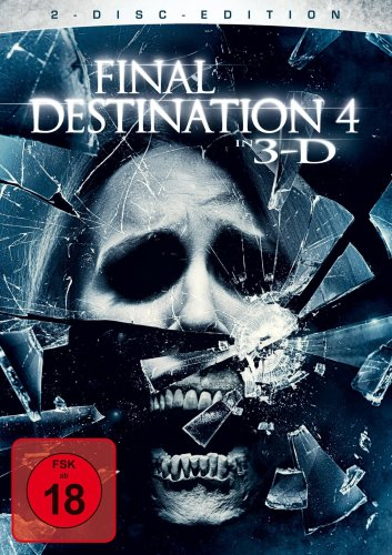 Final Destination 4 (2 Disks, inkl. 3D-Version des Films + vier 3-D Brillen) [2 DVDs]